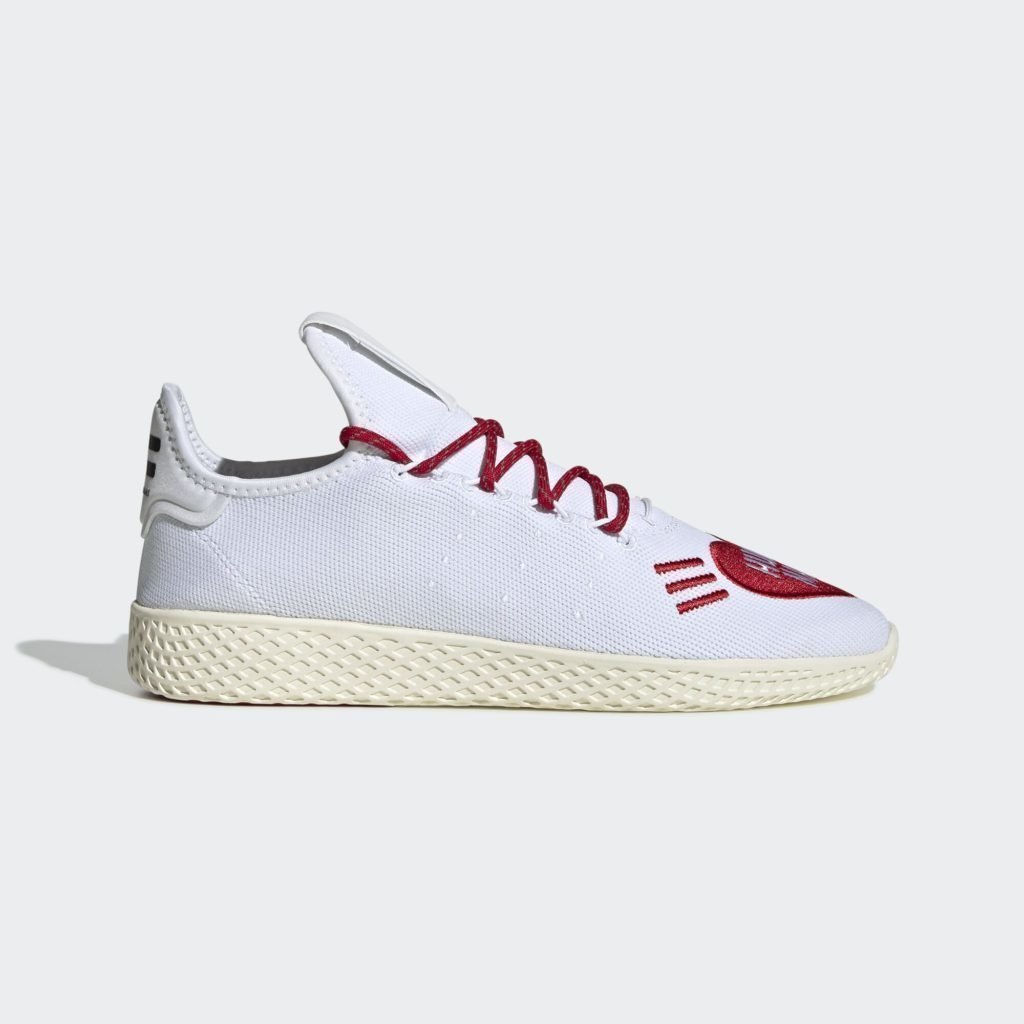 adidas Pharrell Tennis Hu Human Made White Red
