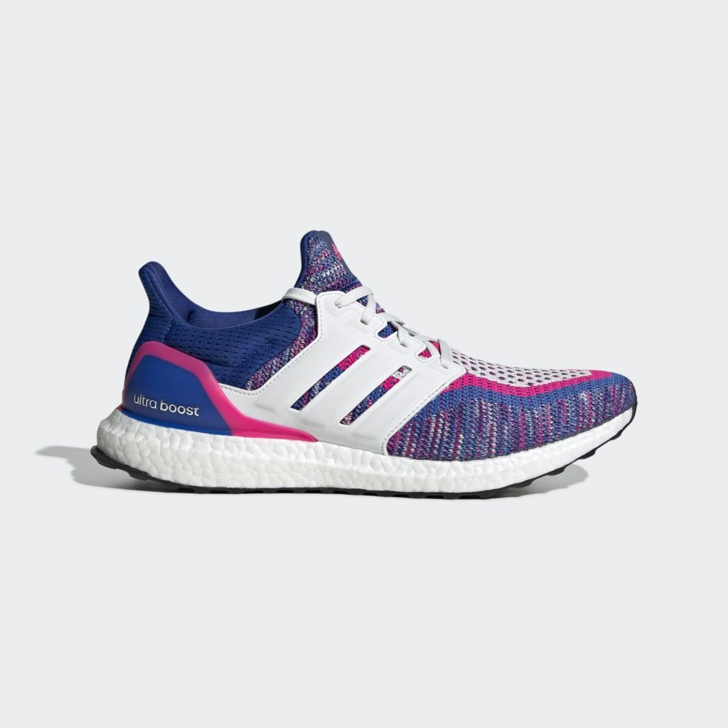 adidas Ultra Boost Real Blue Shock Pink