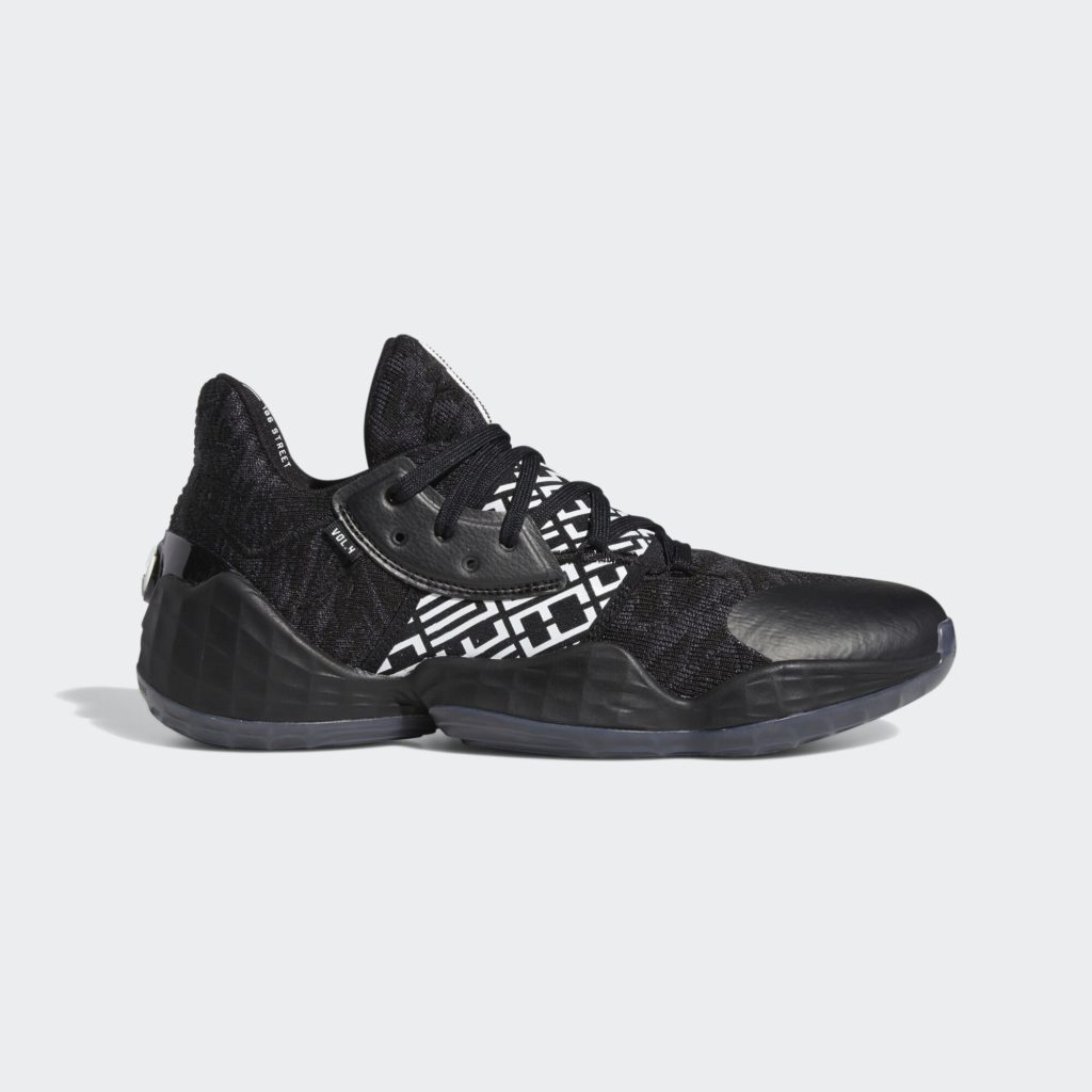 adidas Harden Vol. 4 Black White