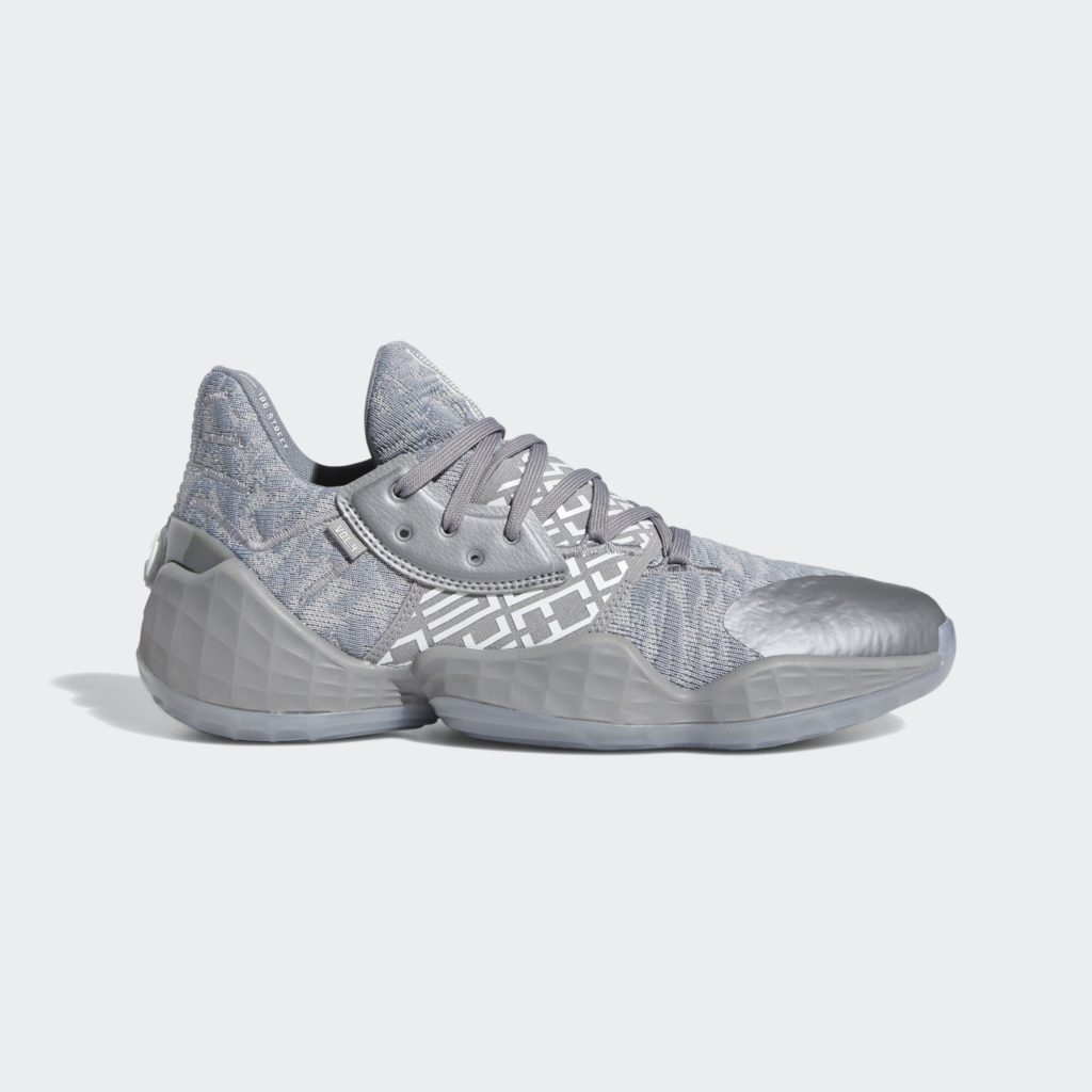 adidas Harden Vol. 4 Grey White