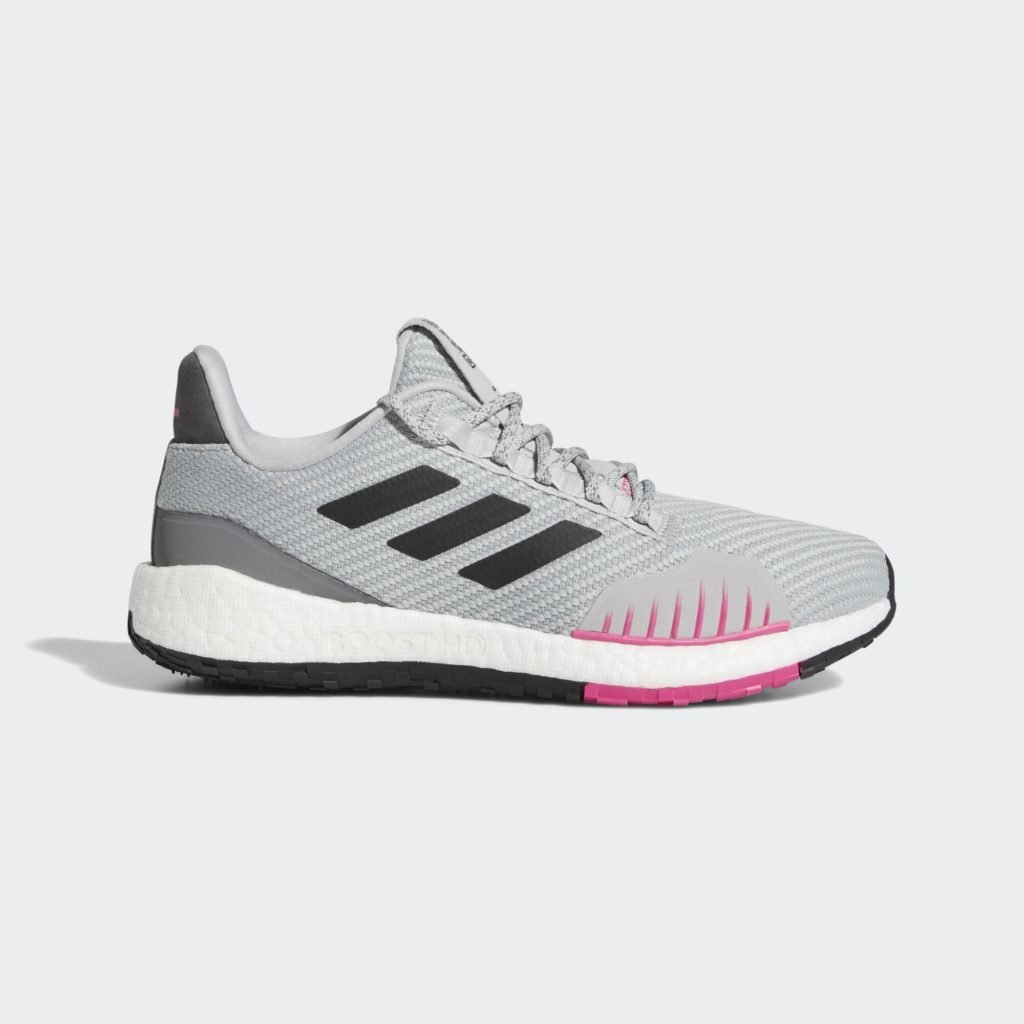 adidas Pulseboost HD Winter Grey Black Pink (W)