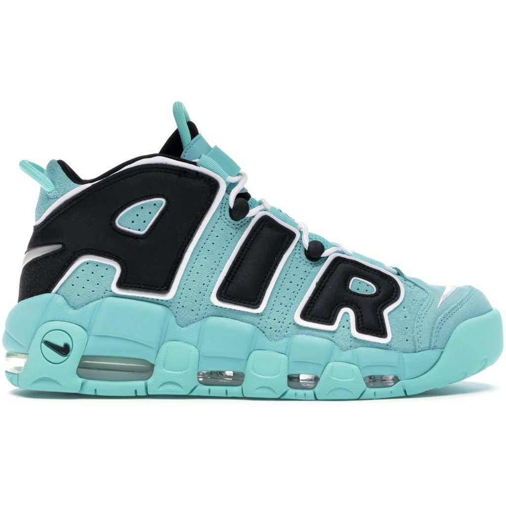 Air More Uptempo Light Aqua