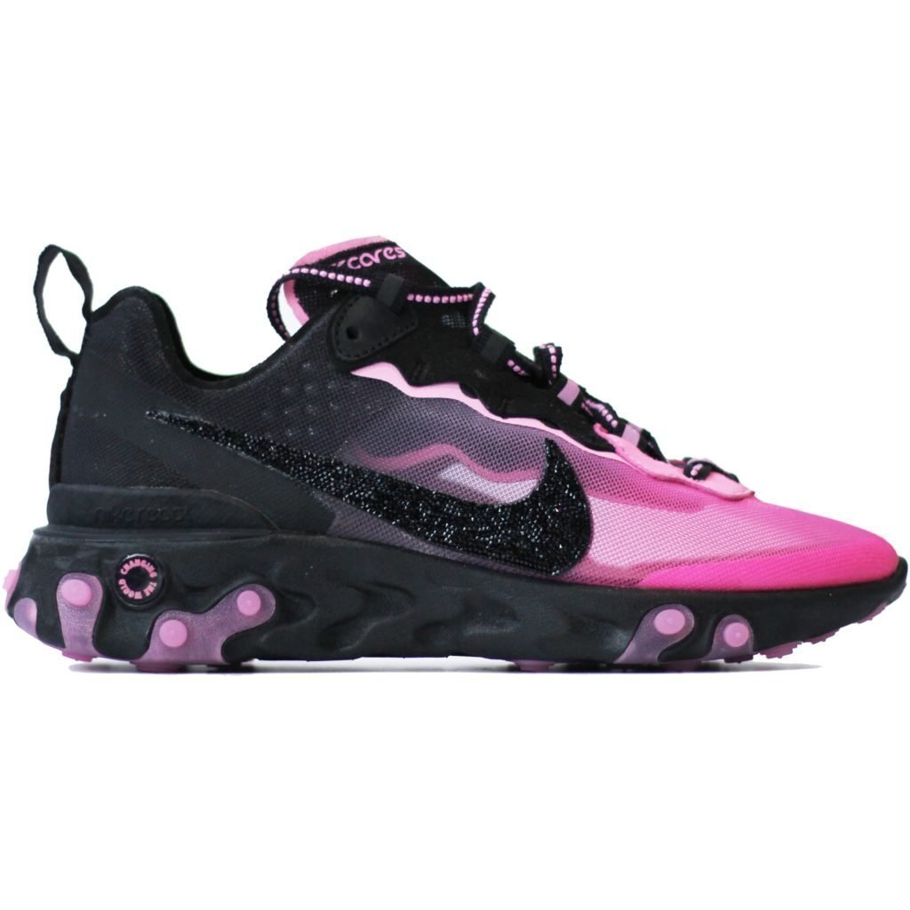 Nike React Element 87 Sneakerroom Breast Cancer Awareness Swarovski