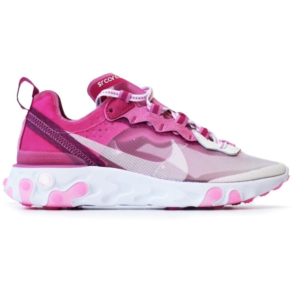 Nike React Element 87 Sneakerroom Breast Cancer Awareness White
