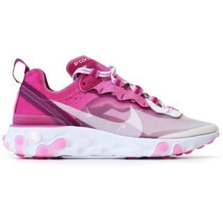Nike React Element 87 Sneakerroom Breast Cancer Awareness White