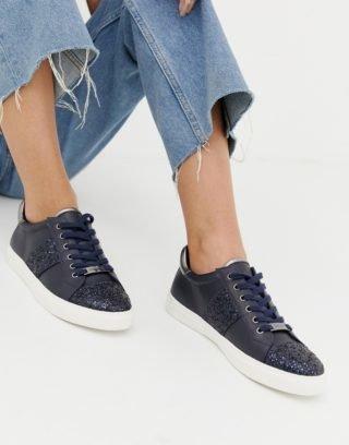 Carvela Wedge sneakers|Hoge sneakers (Marineblauw)