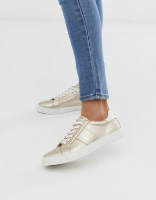 Carvela Wedge sneakers|Hoge sneakers (Goud)