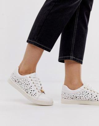 Miss KG Hoge sneakers|Wedge sneakers (Wit)