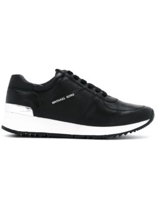 Michael Michael Kors lace-up sneakers with logo - Zwart
