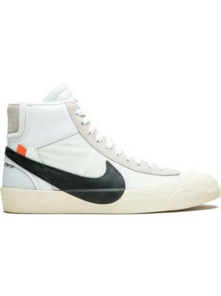Nike Nike x Off-White The 10: Blazer Mid sneakers (wit)