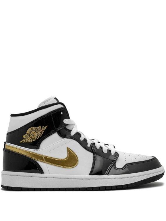 Jordan Air Jordan 1 halfhoge SE sneakers – Wit