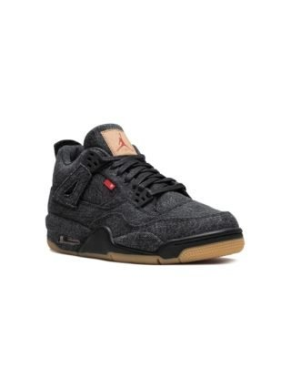 Jordan Air Jordan 4 RTR Levis NRG BG sneakers - Zwart
