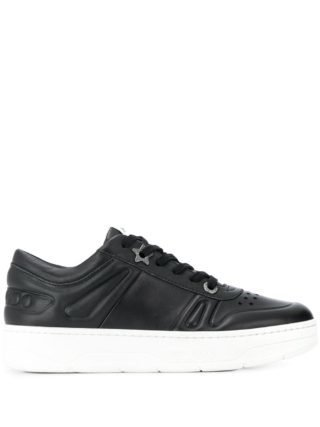 Jimmy Choo Hawaii sneakers met plateauzool - Zwart