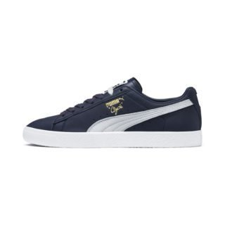 Clyde Trainers (Blauw/Wit)