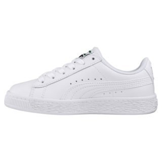 Basket Classic Kids' Trainers (Wit)