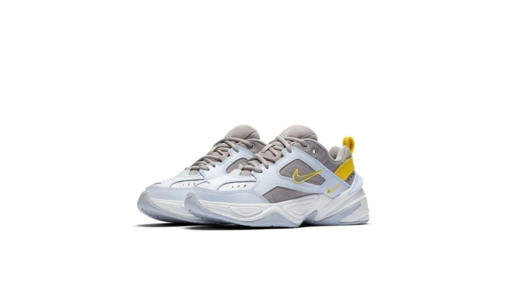 Nike M2k Tekno PhantomOlive Grey Matte Silver Hyper