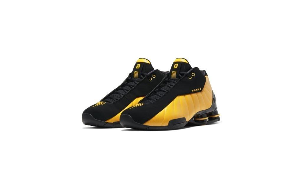 Nike Shox BB4 Black University Gold