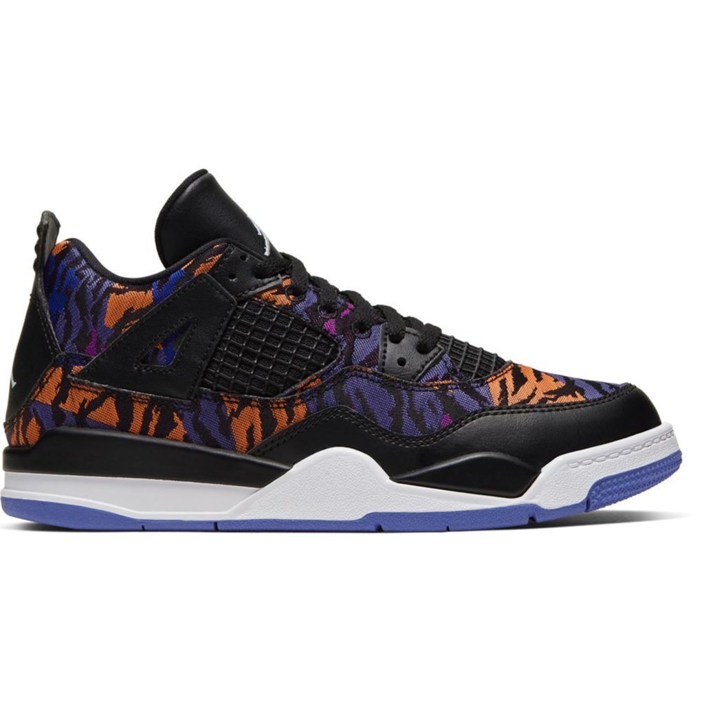 Jordan 4 Retro Black Rush Violet (PS)