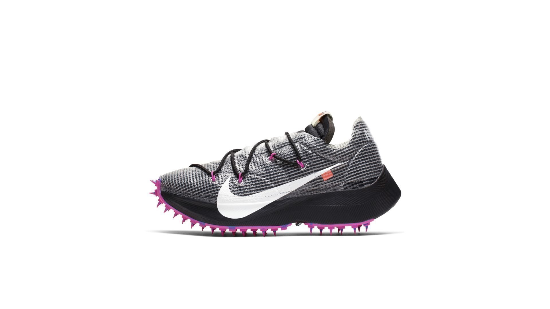 Nike Vapor Street Off-White Black Laser Fuchsia (W) (CD8178-001)