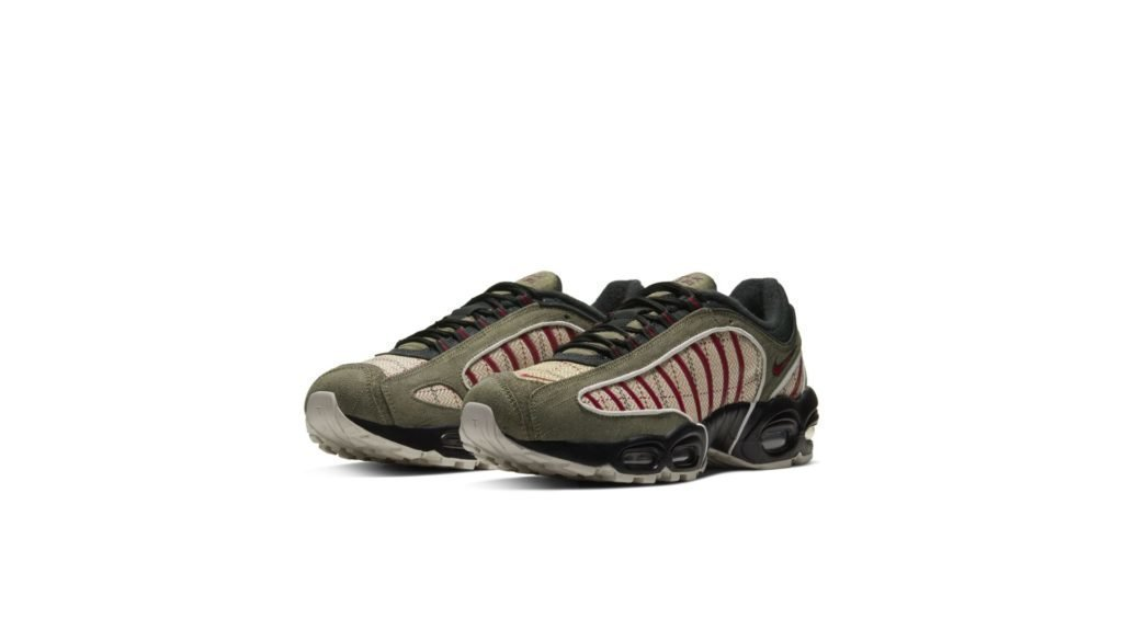 Air Max Tailwind 4 Plaid Olive