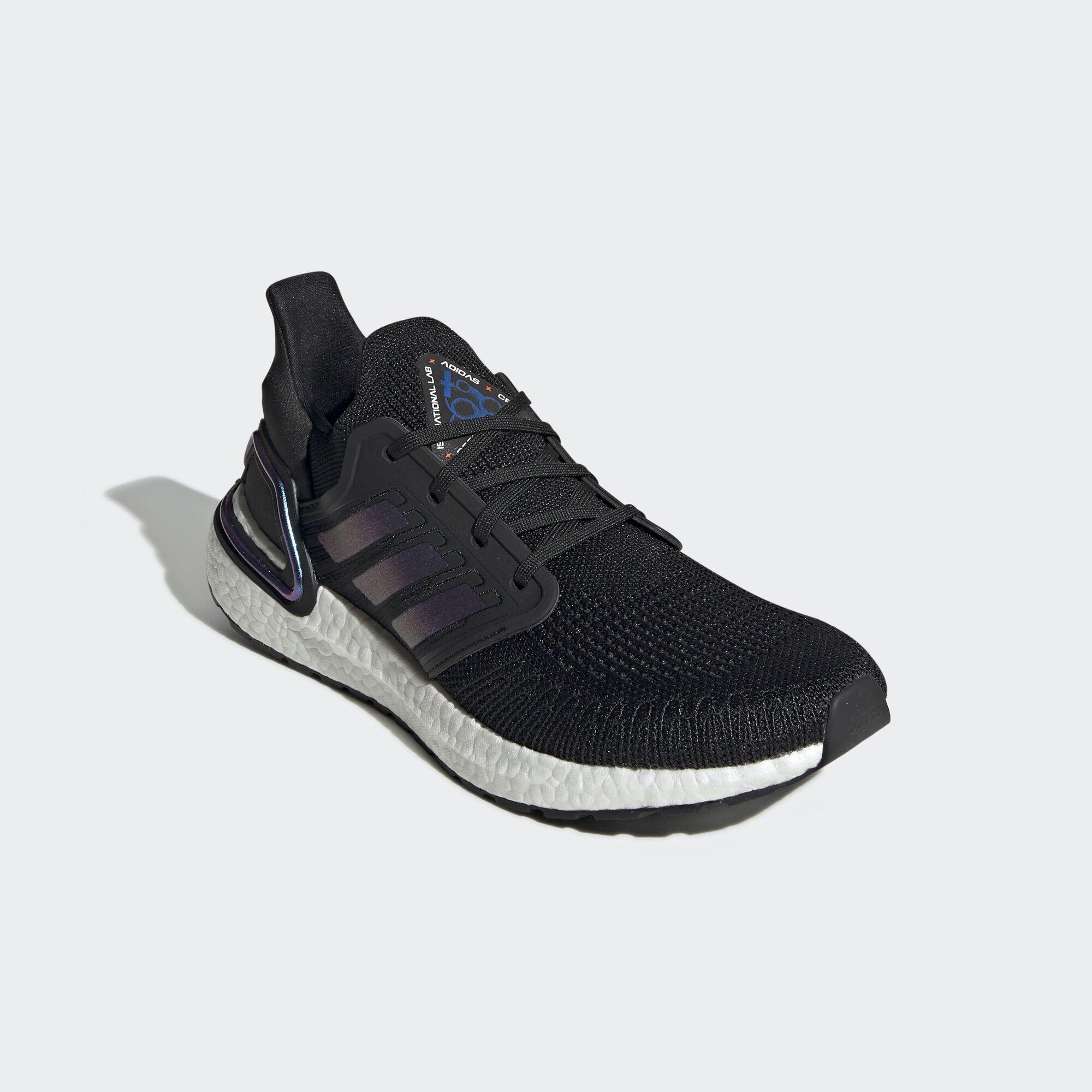 adidas Ultra Boost 2020 ISS US National Lab Core Black Blue Violet (EG0692)