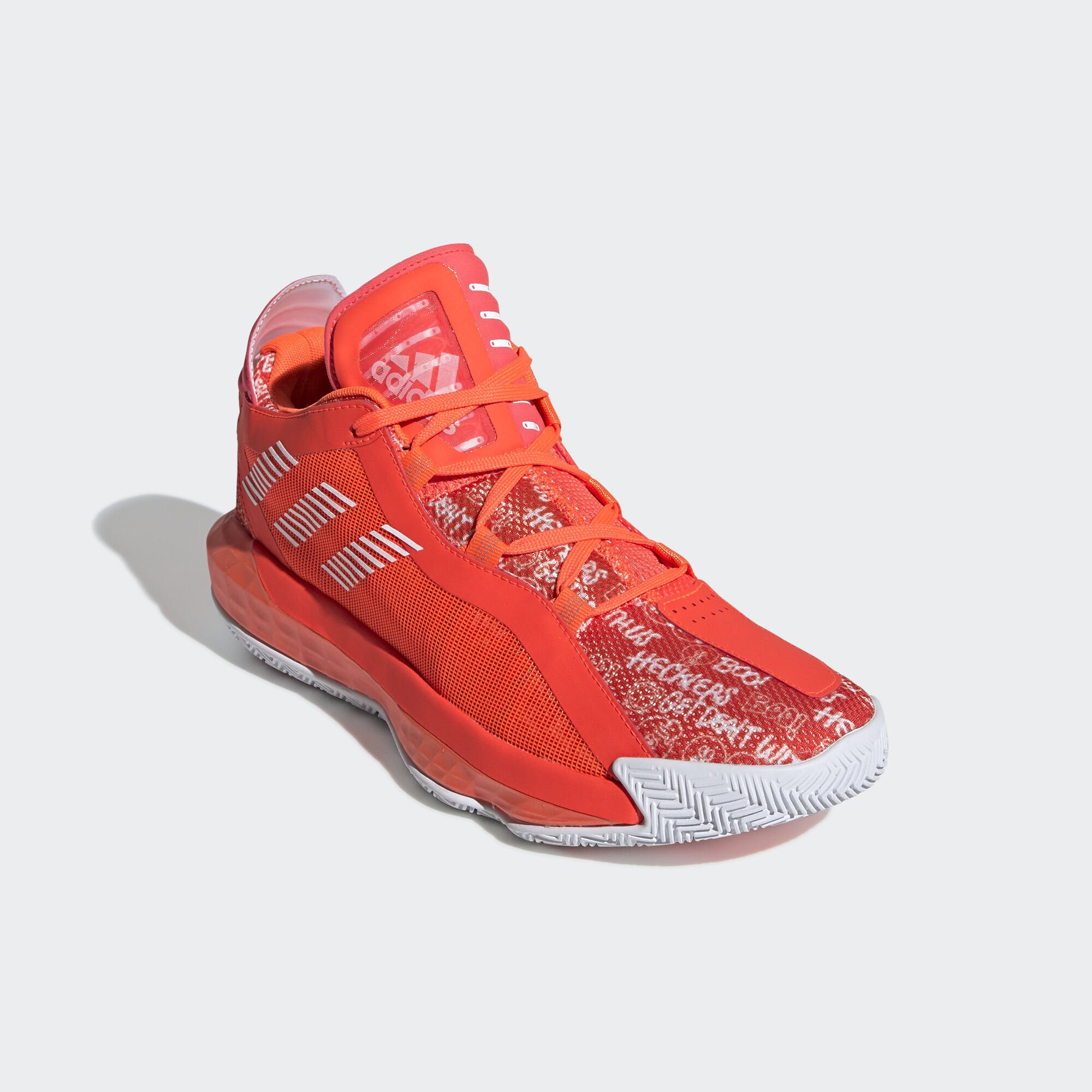 adidas Dame 6 Solar Red White (FU6808)