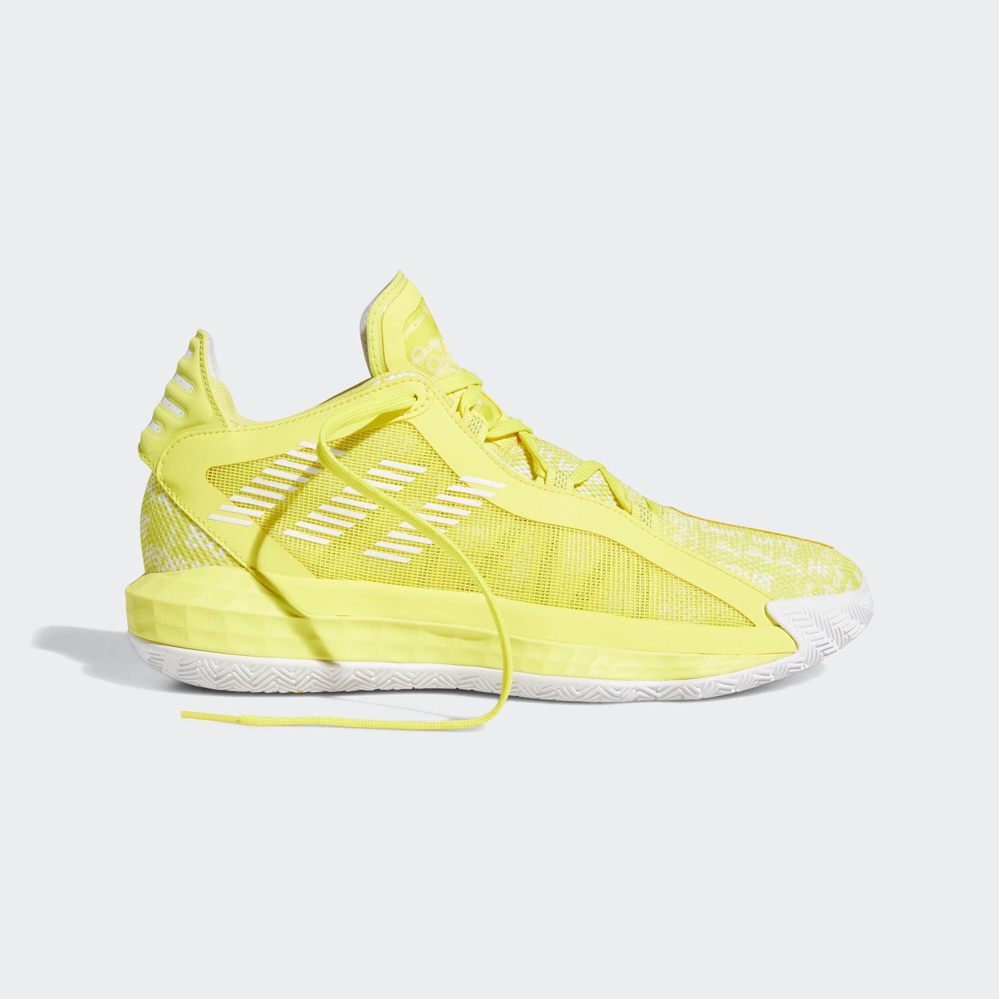 adidas Dame 6 Shock Yellow White (FU6810)
