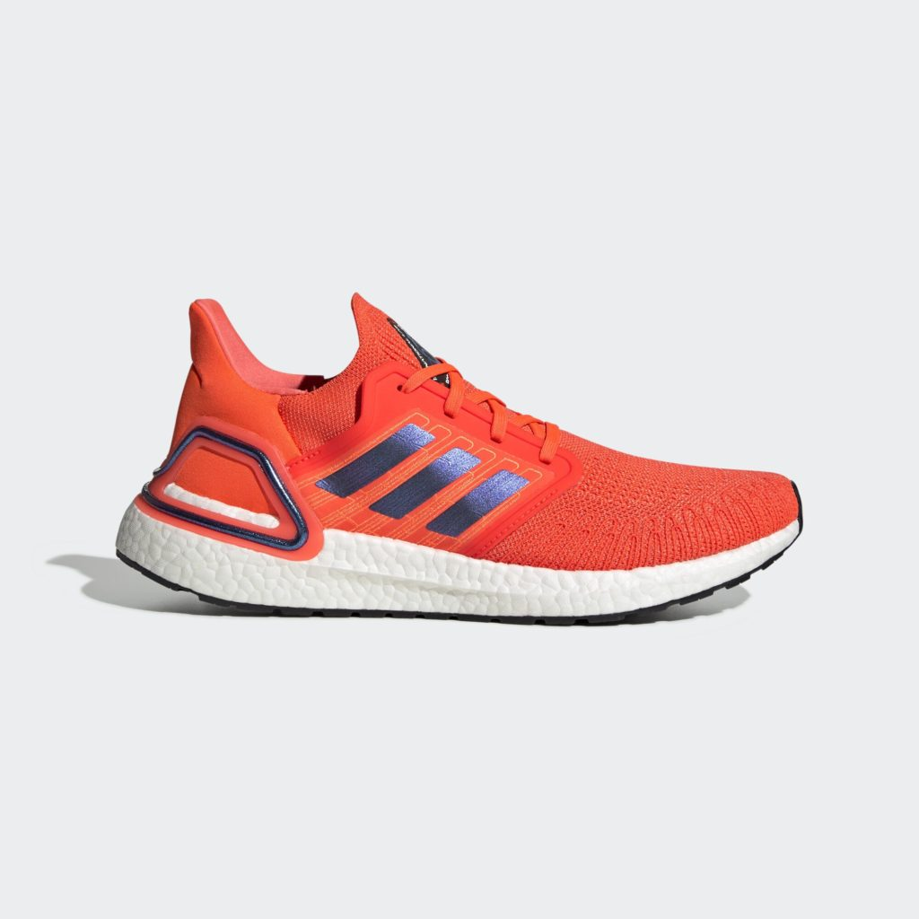 adidas Ultra Boost 2020 ISS US National Lab Solar Red