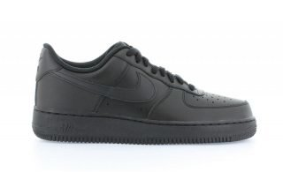 Nike Air Force 1 Low Zwart Dames