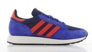 Adidas adidas Forest Grove Blauw/Rood Heren