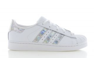 Adidas adidas Superstar C Wit/Holographic Kinderen