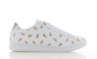 Lacoste Carnaby Evo Wit/Goud