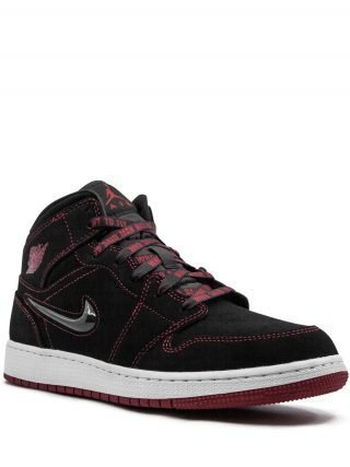 Jordan Air Jordan 1 Mid Fearless GS sneakers - Zwart