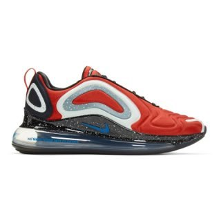 Nike Red Undercover Edition Air Max 720 Sneakers