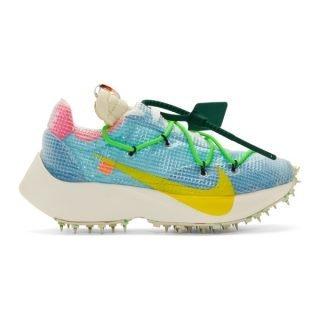 Nike Blue Off-White Edition Vapor Street Sneakers