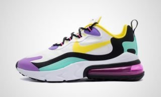 Air Max 270 React (Wit/multicolor) Sneaker