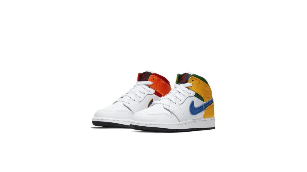 Jordan 1 Mid Alternate Multi-Color (GS)