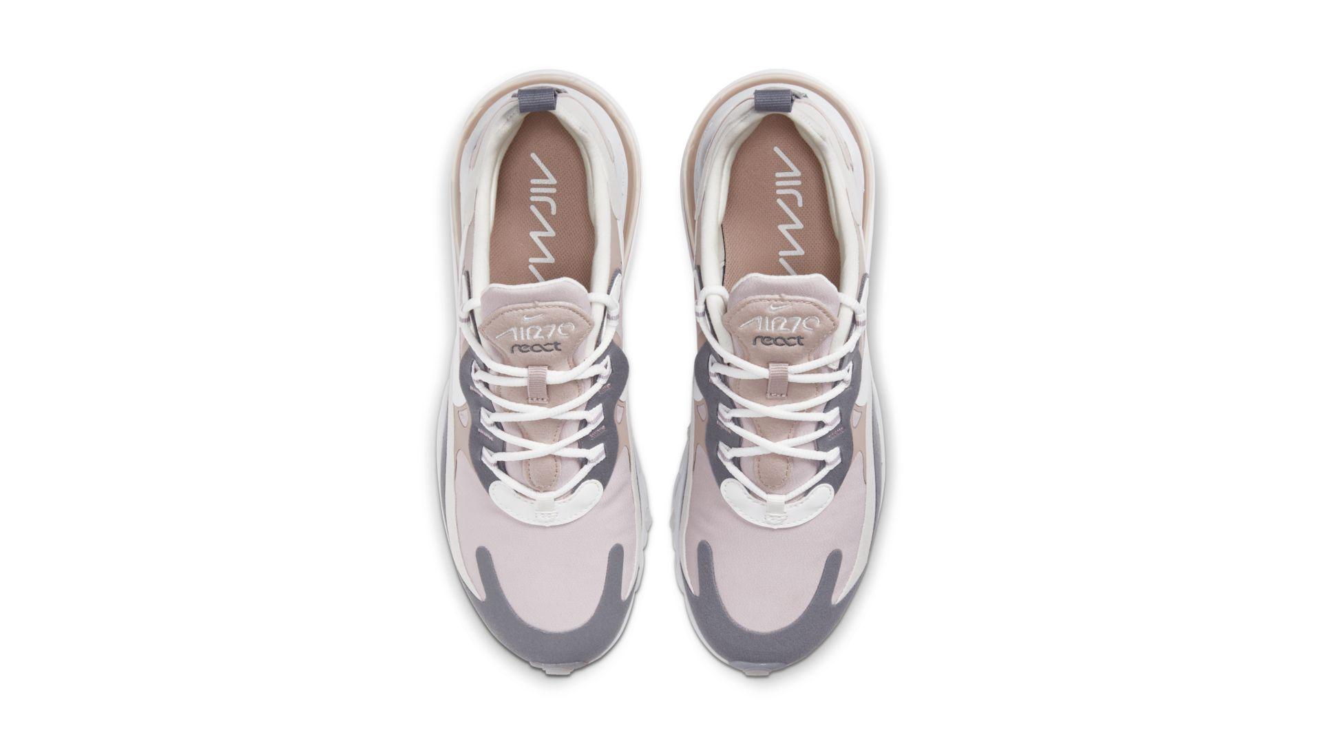 Nike Air Max 270 React Plum ChalkSummit Sneaker