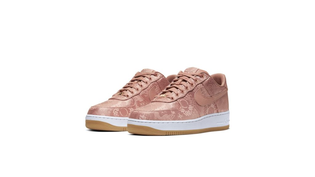 Air Force 1 Low Clot Rose Gold Silk