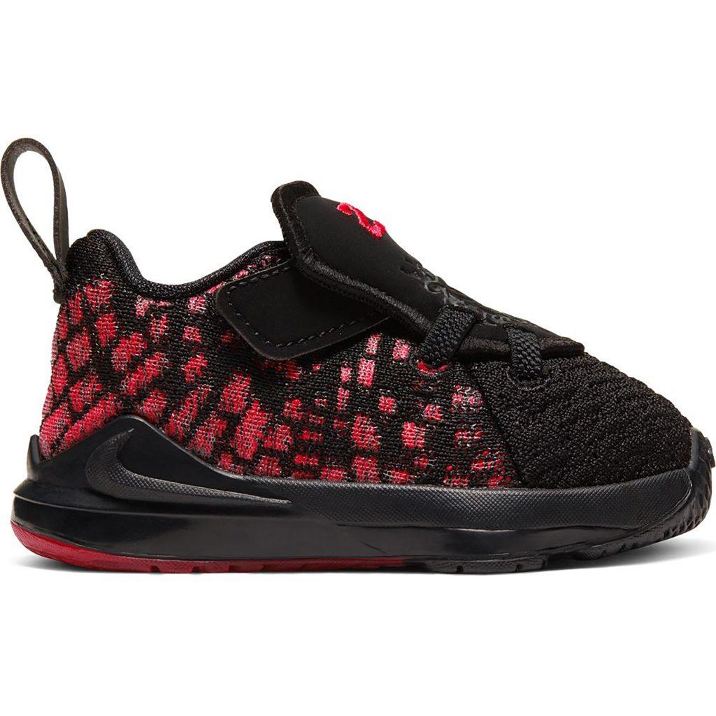 Nike LeBron 17 Infrared (TD) (BQ5596-006)