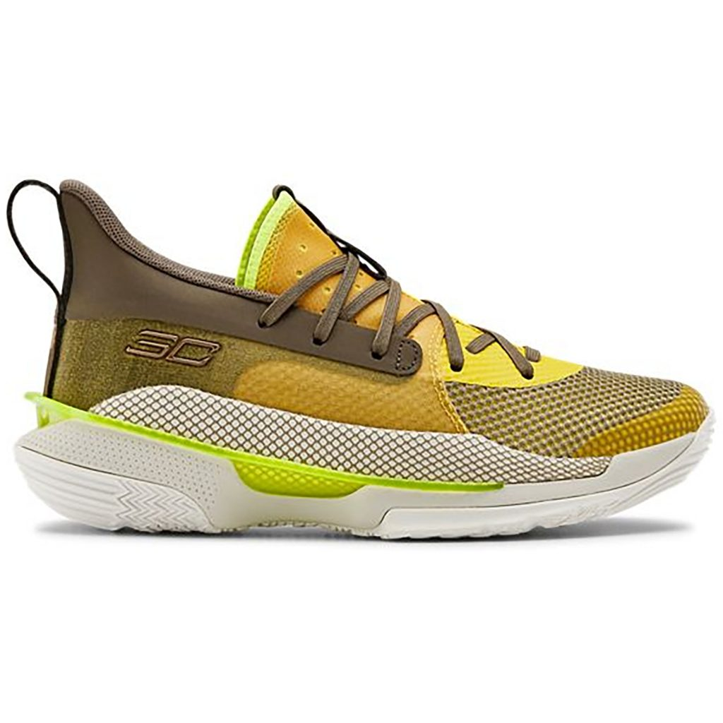 Under Armour Curry 7 Zeppelin Yellow (GS)