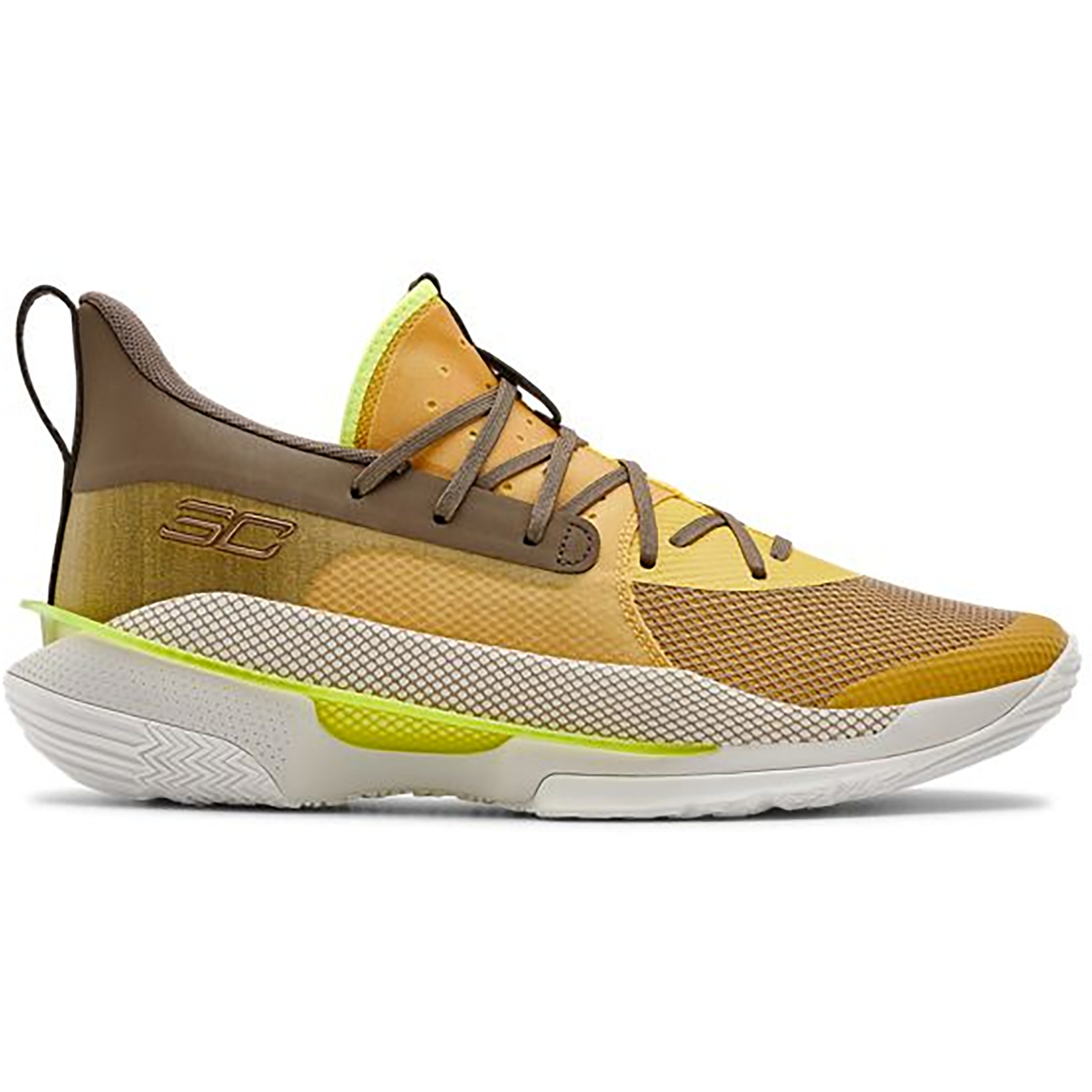 Under Armour Curry 7 Zeppelin Yellow (3021258-701)