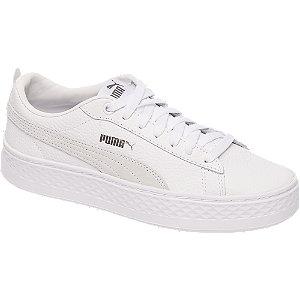 Puma Witte Smash Platform