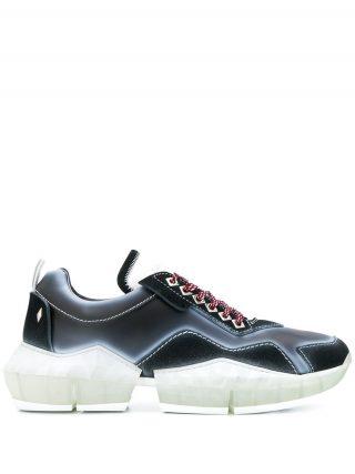 Jimmy Choo Diamond/M low-top sneakers - Zwart