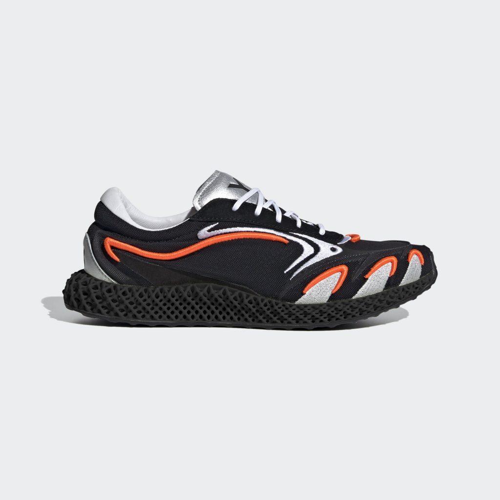 adidas  Y-3 Runner 4D Black Orange (FU9208)